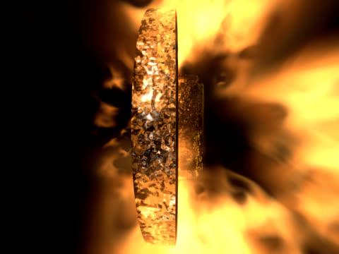 cross on fire (NTSC)
