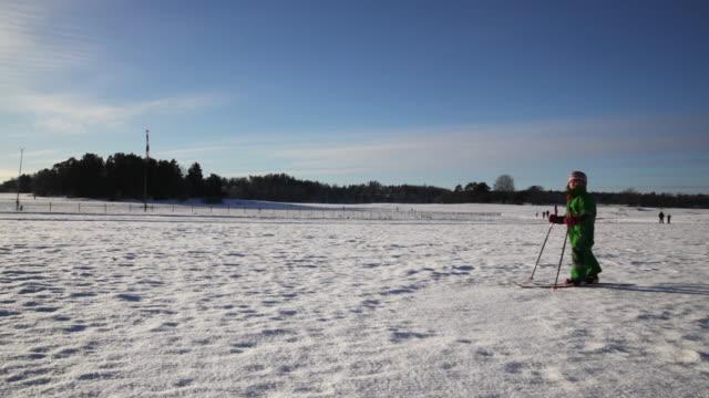 cross-country ski - längd bildbanksvideor och videomaterial från bakom kulisserna