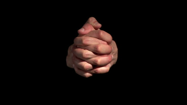 hd: crossing fingers - praying stock videos & royalty-free footage