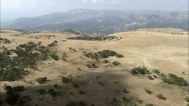 Crossing High Plain And Valley  - Aerial View - Castille and León, Avila, Hoyo de Pinares, El, Spain