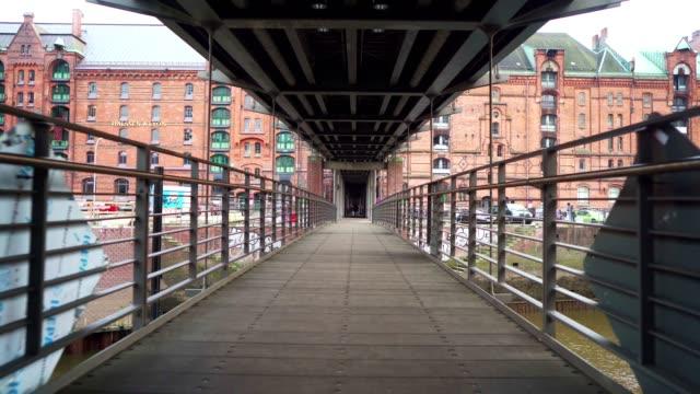 Crossing over the bridge