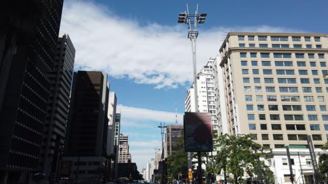 Crossing Paulista Avenue