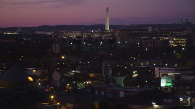 crossing south capitol street with washington monument in the background. shot in 2011. - artbeats stock videos & royalty-free footage