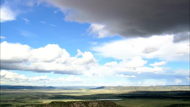 Überqueren Sie die Grenze nach Neu Mexico-Luftaufnahme-New Mexico, Catron County, Vereinigte Staaten