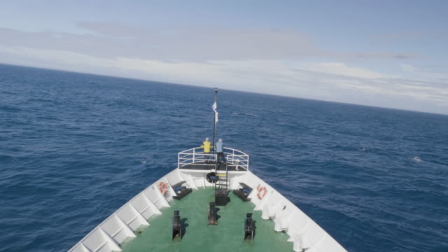 crossing the drake passage by boat - drake passage stock videos and b-roll footage