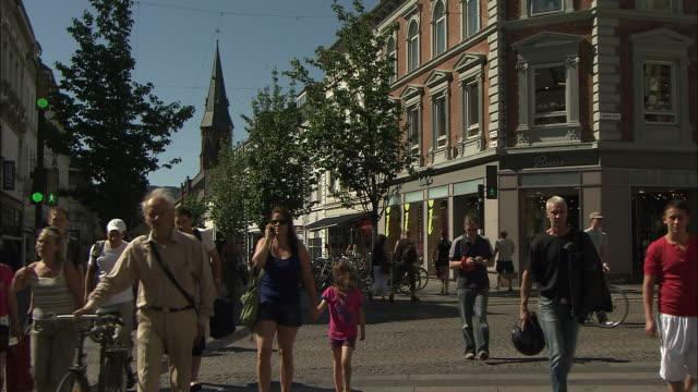 Crossing the Road, Arhus, Denmark