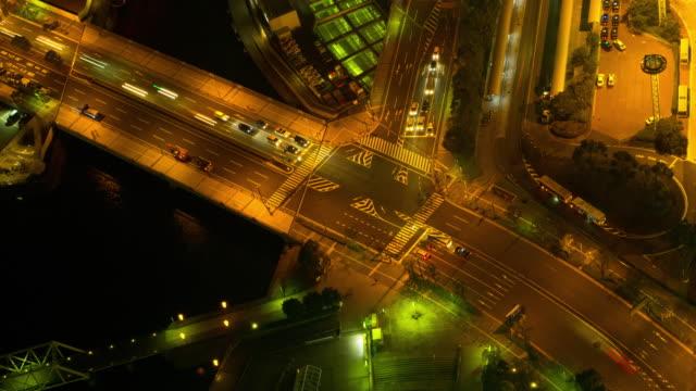 十字路を横浜(静止画) - 神奈川県点の映像素材/bロール