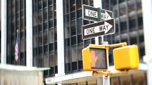 NYC Crosswalk Light (Tilt Shift Lens)