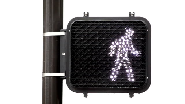 crosswalk signal - stop sign stock videos and b-roll footage