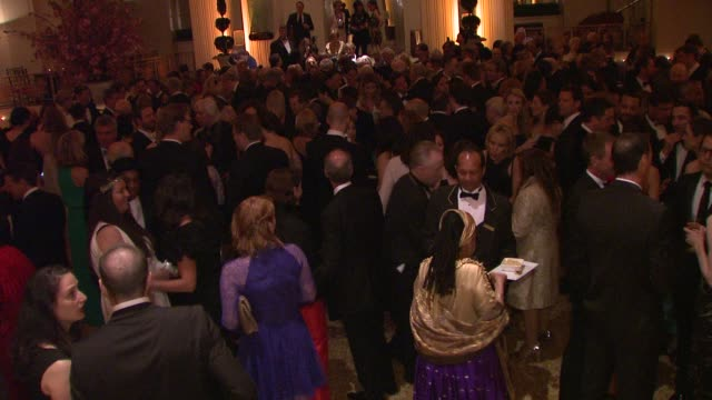 crowd at 2012 Carnegie Hall Medal Of Excellence Gala at The Waldorf Astoria on April 23 2012 in New York New York