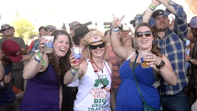 atmosphere crowd at 2014 stagecoach california's country music festival on april 25 2014 in indio california - country and western stock videos and b-roll footage