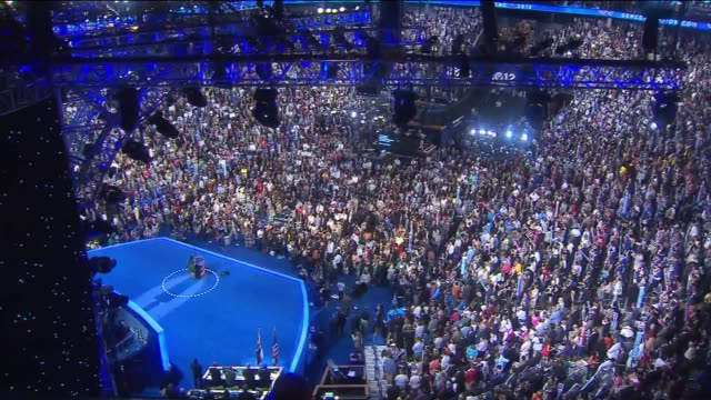 Crowd At Day 3 Of DNC on September 04 2012 in Charlotte North Carolina
