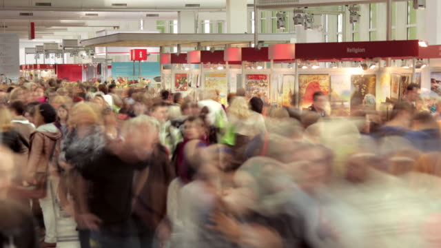Crowd at Frankfurt Book Fair