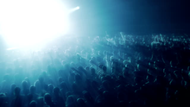 crowd at the concert - pop musician stock videos & royalty-free footage