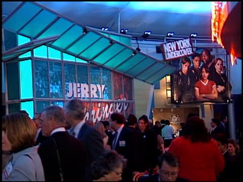 vídeos de stock e filmes b-roll de crowd at the natpe convention on january 20, 1998. - natpe convention