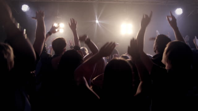 crowd in disco - party stock videos & royalty-free footage