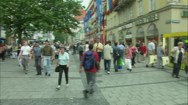 WS PAN Crowd in Marienplatz, Munich, Bavaria, Germany