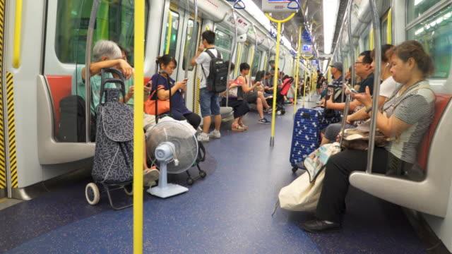 Menschenmenge in der U-Bahn