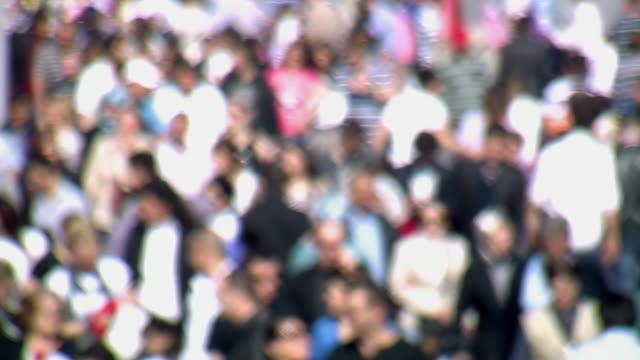 crowd istanbul 2 - standbildaufnahme stock-videos und b-roll-filmmaterial