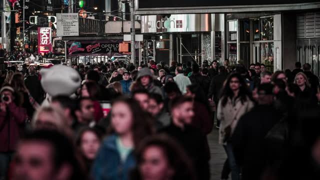 crowd of people - boulevard stock videos & royalty-free footage