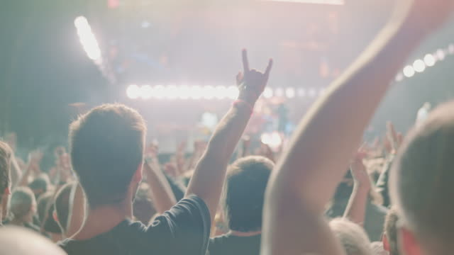 crowd on festival - concert stock videos & royalty-free footage