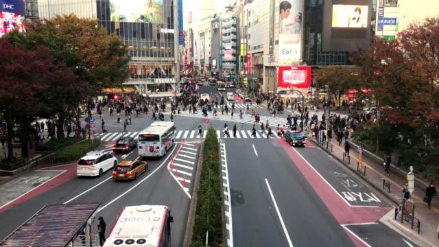 渋谷で群衆人