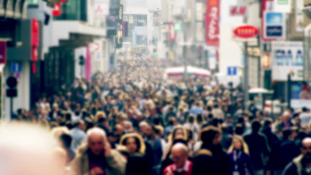 crowd - unrecognizable person stock videos & royalty-free footage
