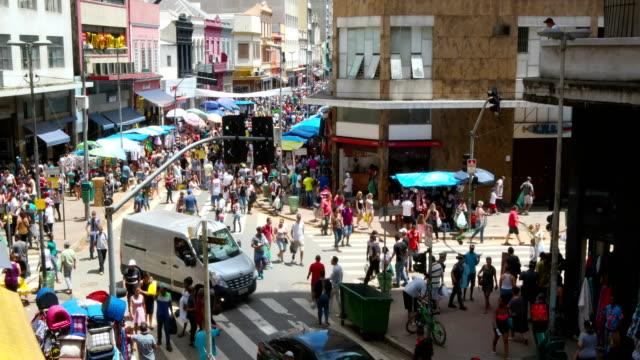 folkmassan - sydamerika bildbanksvideor och videomaterial från bakom kulisserna