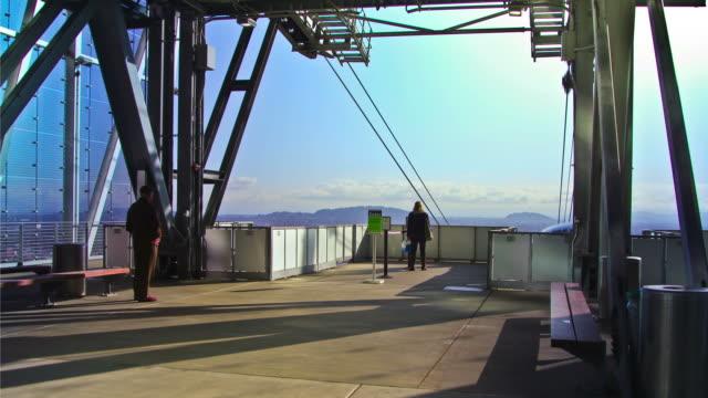 crowd walking out of tram time lapse - doctor multitasking stock videos & royalty-free footage