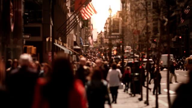 Crowded Avenue.