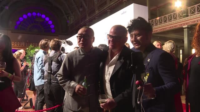 crowds arrive at melbourne's exhibition center for 50 best restaurants award ceremony - exhibition stock videos & royalty-free footage