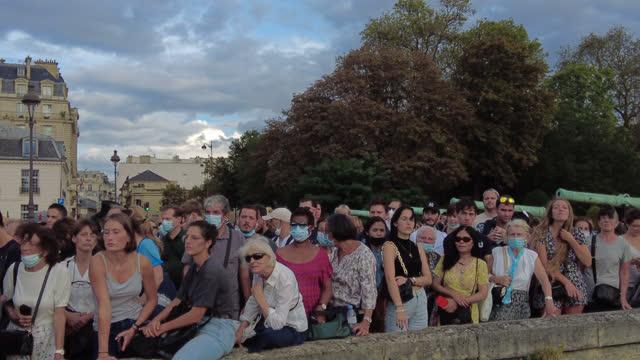 FRA: Tribute To Jean-Paul Belmondo At Les Invalides In Paris