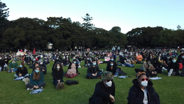 AUS: Sydneysiders Rally Against Black Deaths In Custody