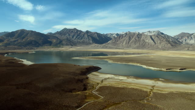 Crowley Lake, a reservoir on the Upper Owens River, Mono County, California.
