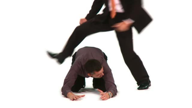 vidéos et rushes de time-lapse hd : méchanceté monde des affaires - collègue de bureau