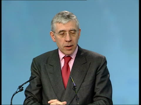 cruise ship aurora heads home pool london jack straw mp press conference sot i regret the action taken by the spanish government which is unnecessary... - jack straw stock videos and b-roll footage