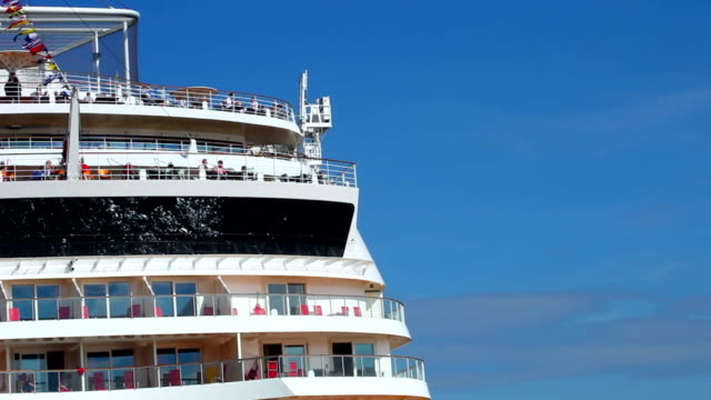 Cruise ship - close up