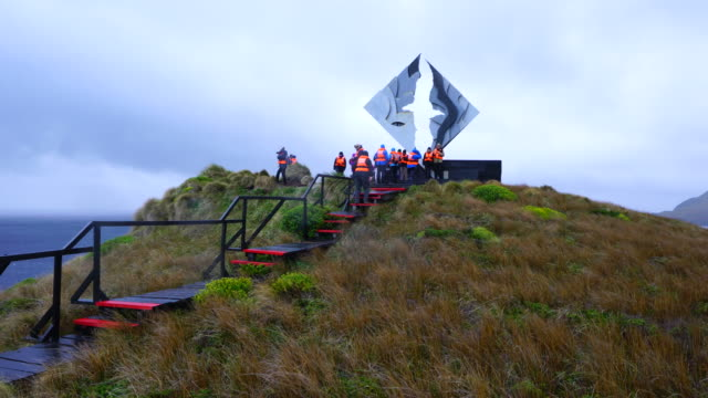 stockvideo's en b-roll-footage met cruise ship explorers of patagonia, chilean fjords, tierra del fuego, patagonia, strait of magellan, chile, south america, america - rondrijden