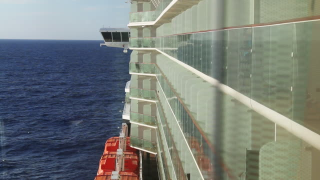 cruise ship footage - audio available stock videos & royalty-free footage