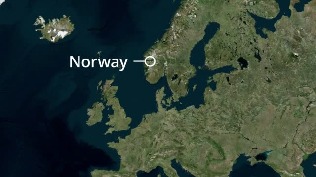 a cruise ship off the west norway coast has issued a mayday call in heavy winds with 1300 passengers set to be evacuated - cruising stock videos & royalty-free footage