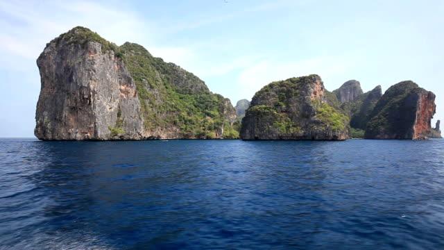 Cruisen op Phi phi-eilanden