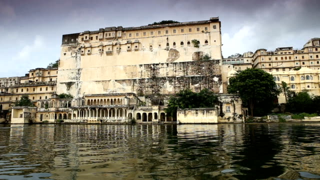 cruising lake pichola in udaipur india - rajasthan stock videos and b-roll footage