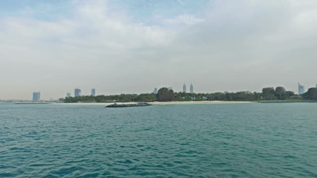 Cruising near Dubai coastline