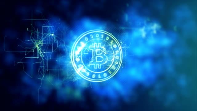 暗号通貨概念 - イーサリアム点の映像素材/bロール