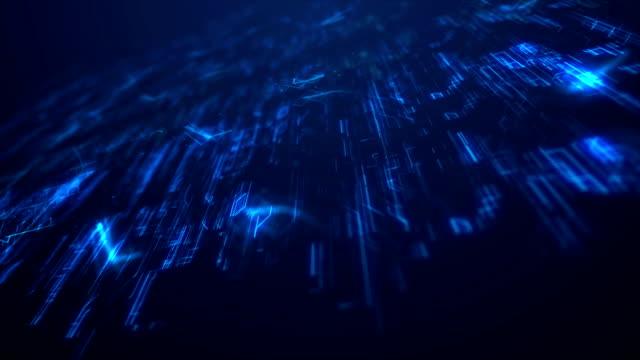 vídeos de stock, filmes e b-roll de cryptocurrency, o conceito de fundo digital - placa mãe