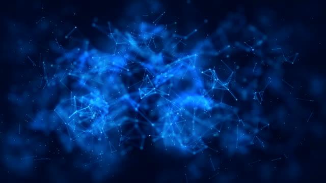 vídeos de stock, filmes e b-roll de conceito de rede de cryptocurrency, blockchain, dados, internet, sistema de segurança, rede de computadores - elemento de desenho