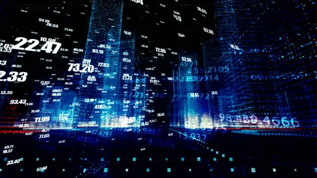 vídeos de stock, filmes e b-roll de conceito de rede de cryptocurrency, blockchain, dados, internet, sistema de segurança, rede de computadores - escorrer