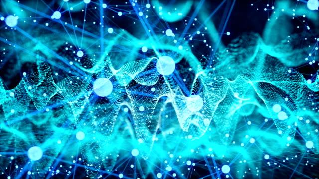 cryptocurrency ネットワークのコンセプト - コミュニケーション点の映像素材/bロール