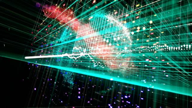 暗号通貨ネットワークの概念 - コンピュータハードウェア点の映像素材/bロール