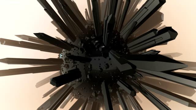 クリスタル抽象的な単発 - クリスタル点の映像素材/bロール